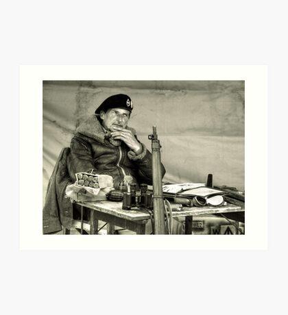 The Field Marshal  Art Print