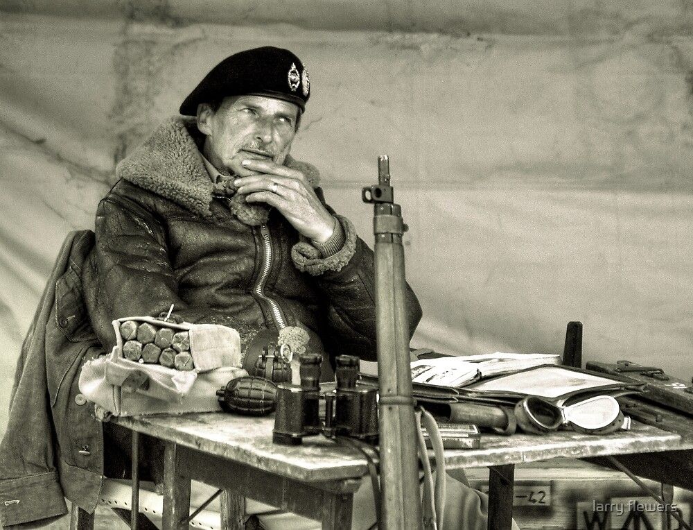 The Field Marshal  by larry flewers