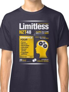Limitless Pills - NZT 48 (Original Version) Classic T-Shirt