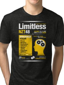 Limitless Pills - NZT 48 (Original Version) Tri-blend T-Shirt