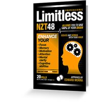 Limitless Pills - NZT 48 (Original Version) Greeting Card
