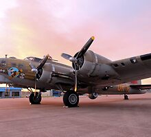 A Flying Fortress by aprilann