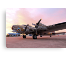 A Flying Fortress Canvas Print
