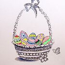 Easter eggs by Sampa Bhakta