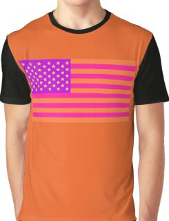 American Flag Alternate Colors #3 Graphic T-Shirt