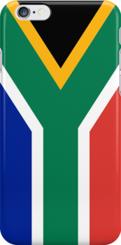 Smartphone Case - Flag of South Africa - Vertical by Mark Podger