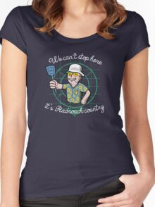 Fear and loathing in NEW Vegas Women's Fitted Scoop T-Shirt