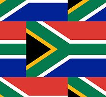Iphone Case - Flag of South Africa - Patchwork by Mark Podger