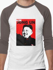 Kim Jong Un Men's Baseball ¾ T-Shirt