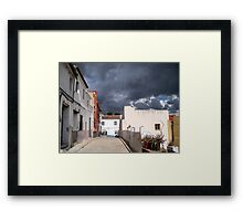 Storm Clouds. Framed Print
