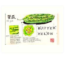 bitter melon Art Print