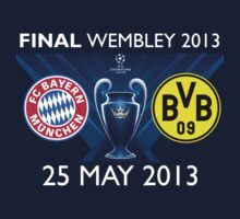Champions League final 2013 : Munich - Dortmund by Teji