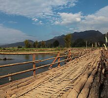Pai Bridge, Thailand by DavePrice