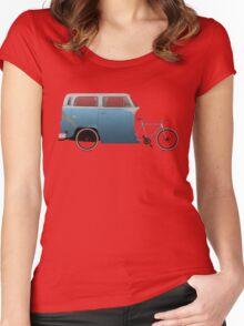 Camper Bike Women's Fitted Scoop T-Shirt