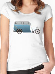 Camper Bike Women's Fitted Scoop T-Shirt