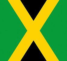 Smartphone Case - Flag of Jamaica - Vertical by Mark Podger