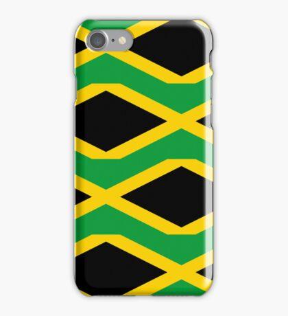 Smartphone Case - Flag of Jamaica - Patchwork iPhone Case/Skin