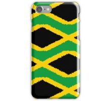 Smartphone Case - Flag of Jamaica - Patchwork Painted iPhone Case/Skin