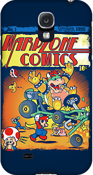 Warp Zone Comics by AtomicRocket