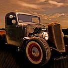This Chevy Rat Rod Pickup Began Life Back in 1936 by ChasSinklier