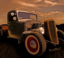 ThisChevy Rat Rod Pickup Began Life Back in 1936 by ChasSinklier