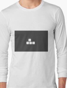 PC's Joysticks Long Sleeve T-Shirt