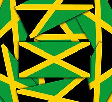 Smartphone Case - Flag of Jamaica - Multiple by Mark Podger