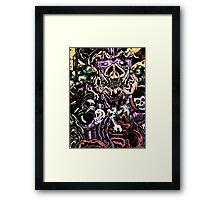 Zom-Bebop Framed Print
