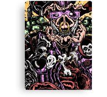 Zom-Bebop Canvas Print