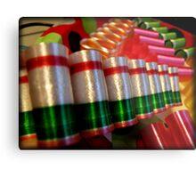 Ribbon Candy Metal Print