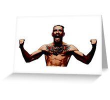 Conor McGregor IRISH UFC LEGEND Greeting Card
