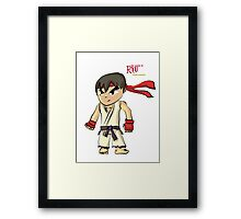 The World Warrior Framed Print