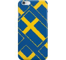 Smartphone Case - Flag of Sweden - Diagonal Painted iPhone Case/Skin