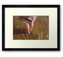 Spiritual feet. Framed Print