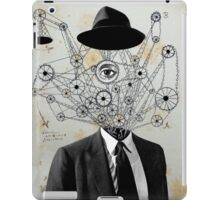mr wheels-in-motion iPad Case/Skin