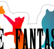 Feline Fantasy - Final Fantasy  Sticker