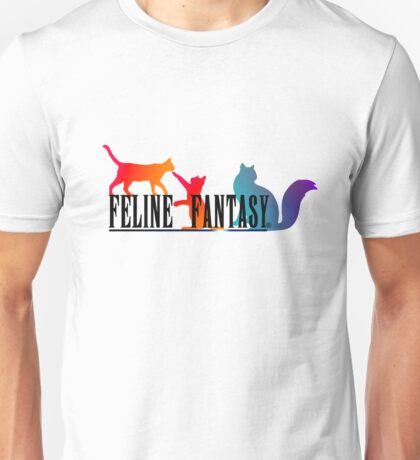Feline Fantasy - Final Fantasy  Unisex T-Shirt