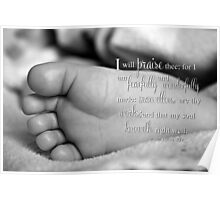 Fearfully & Wonderfully Made Poster