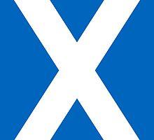 Smartphone Case - Flag of Scotland - Vertical by Mark Podger