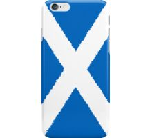 Smartphone Case - Flag of Scotland - Vertical Painted iPhone Case/Skin