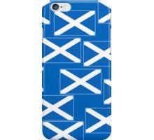 Smartphone Case - Flag of Scotland - Patchwork iPhone Case/Skin