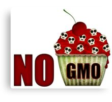NO GMO Canvas Print