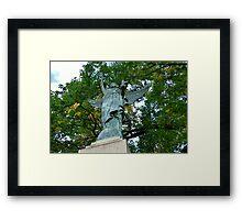 King Square Cenotaph Framed Print