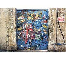Tel Aviv Doors 3 Photographic Print