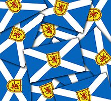 Smartphone Case - Flag of Scotland (unofficial) - Multiple by Mark Podger
