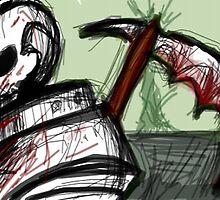 Astronaut Grim Reaper by PowWhale