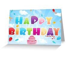 Happy Birthday II Greeting Card