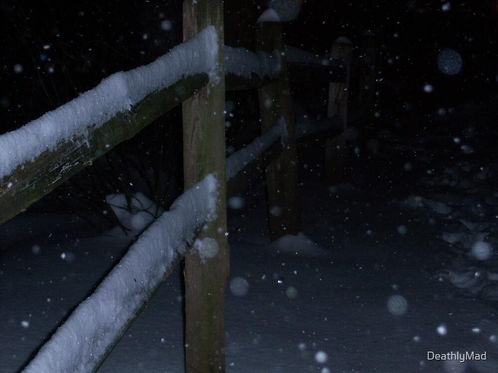 Snowy Cage by DeathlyMad