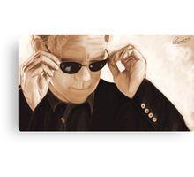 Horatio Caine / David Caruso Duotone Canvas Print
