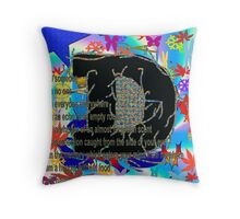 Absent Loved Ones Throw Pillow